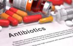 Антибиотики цефалоспорины: названия препаратов цефалоспоринового ряда