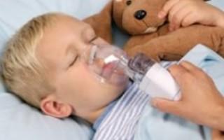 Ингаляции при боли в горле у ребенка – показания и методы проведения