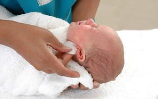Признаки отита у новорождённого грудничка