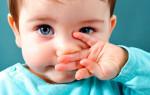 Что делать, если у ребенка заложен нос, но соплей нет?