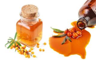 Облепиховое масло от насморка для детей как применять