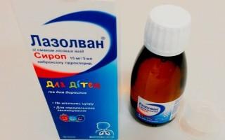 Препарат Лазолван для детей и взрослых и от какого вида кашля