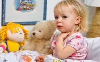 Острый фарингит у детей: симптомы и лечение