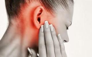 Эффективные капли при воспалении среднего уха
