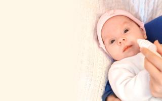 Какие капли в нос для новорожденных безопасны?