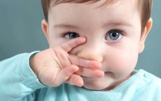 Сопли при прорезывании зубов: опасно ли это