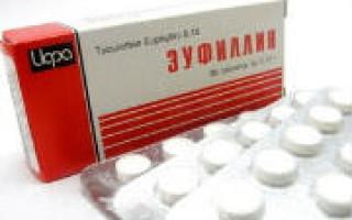 Эуфиллин при беременности, инструкция, отзывы