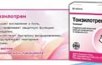 Таблетки от хронического тонзиллита, список препаратов