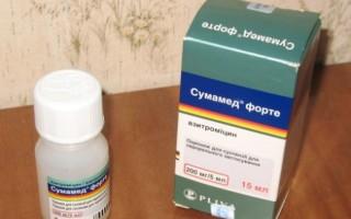 Сумамед при гайморите: особенности лечения