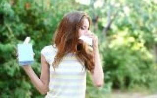 Весенняя аллергия — что делать?