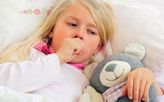 Как можно лечить лающий кашель у ребенка