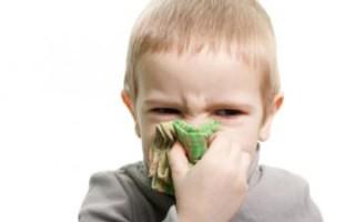 По каким причинам заложен нос по утрам у ребенка и методы лечение