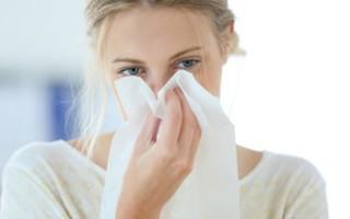 «Скорая помощь» при насморке и кашле