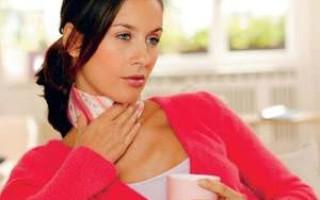 Использование компрессов при боли в горле