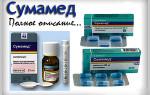 Антибиотик Сумамед и особенности применения у детей