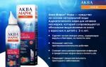 АкваМарис норм: инструкция по применению