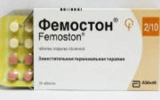 Фемостон при климаксе: отзывы врачей, применение