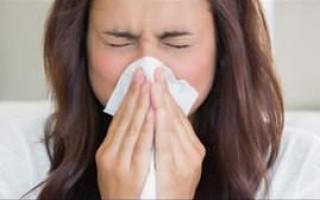 Что делать, если заложен нос и не высмаркиваются сопли