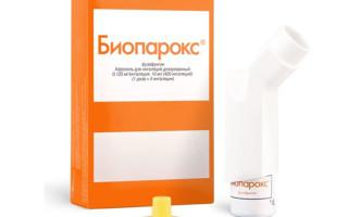 Эффективность применения препарата Биопарокс при ангине
