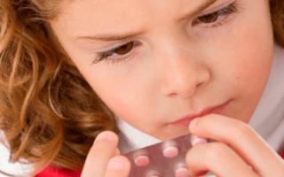 Таблетки от головной боли для детей