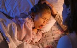 Как остановить приступ кашля ночью?
