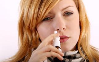 Почему нос заложен а соплей нет у взрослых?