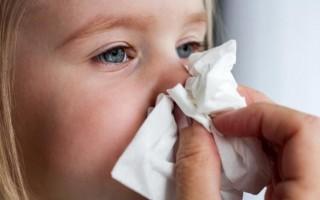 Заложенность носа у ребенка лечение, причины, капли