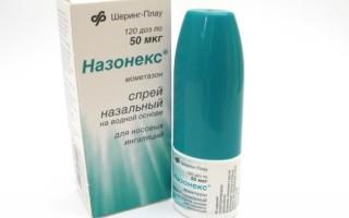 Назонекс – эффективное средство при аденоидах