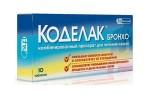 Состав и особенности применения препарата Коделак бронхо