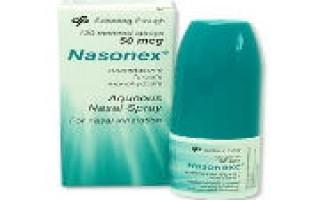 Как применять препарат Назонекс, инструкция