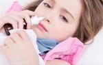 Називин детский – сосудосуживающий препарат для самых маленьких