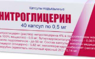 Как принимать нитроглицерин?