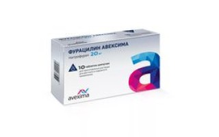 Применение местного антибиотика Фурацилин шипучий от Avexima