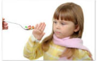 Правила приема и виды антибиотиков для детей