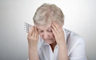 Список таблеток от головокружения для людей пожилого возраста