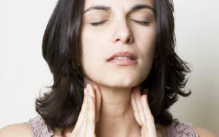 Бактериальный фарингит или пузырьки в горле