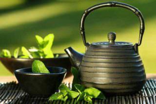 зеленый чай от боли в горле