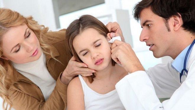 лечение ушей у ребенка