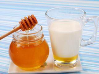 Употребление молока с медом