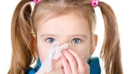 заложен нос у ребенка