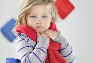 воспаление и боль в горле у детей