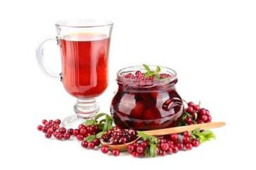 брусничный сок от боли в горле