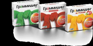 Граммидин от боли в горле