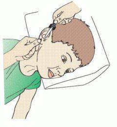 как закапать ушко ребенку