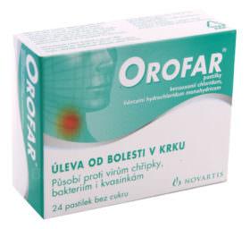Орофар от боли в горле