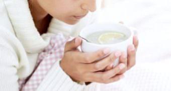 Обильное теплое питье