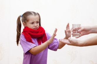 лечим тонзиллит у ребенка