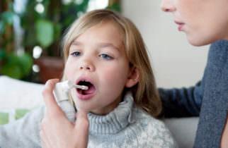 спрей от боли в горле для детей