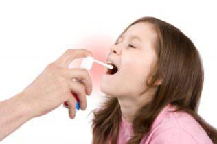 спрей от боли в горле ребенку
