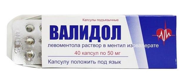 валидол препарат